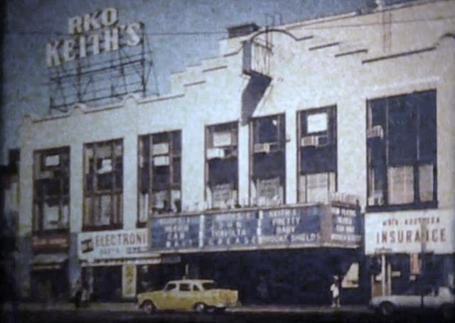 Old Picture of the Front of the Theater