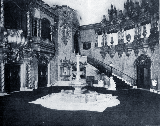 Front Lobby from 1920s