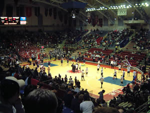 The Palestra continues to host Ivy League and Philadelphia- area games each season