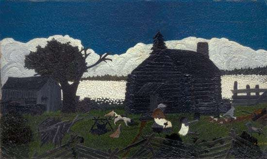 """Cabin in the Cotton,"" painted in the mid-1930s."