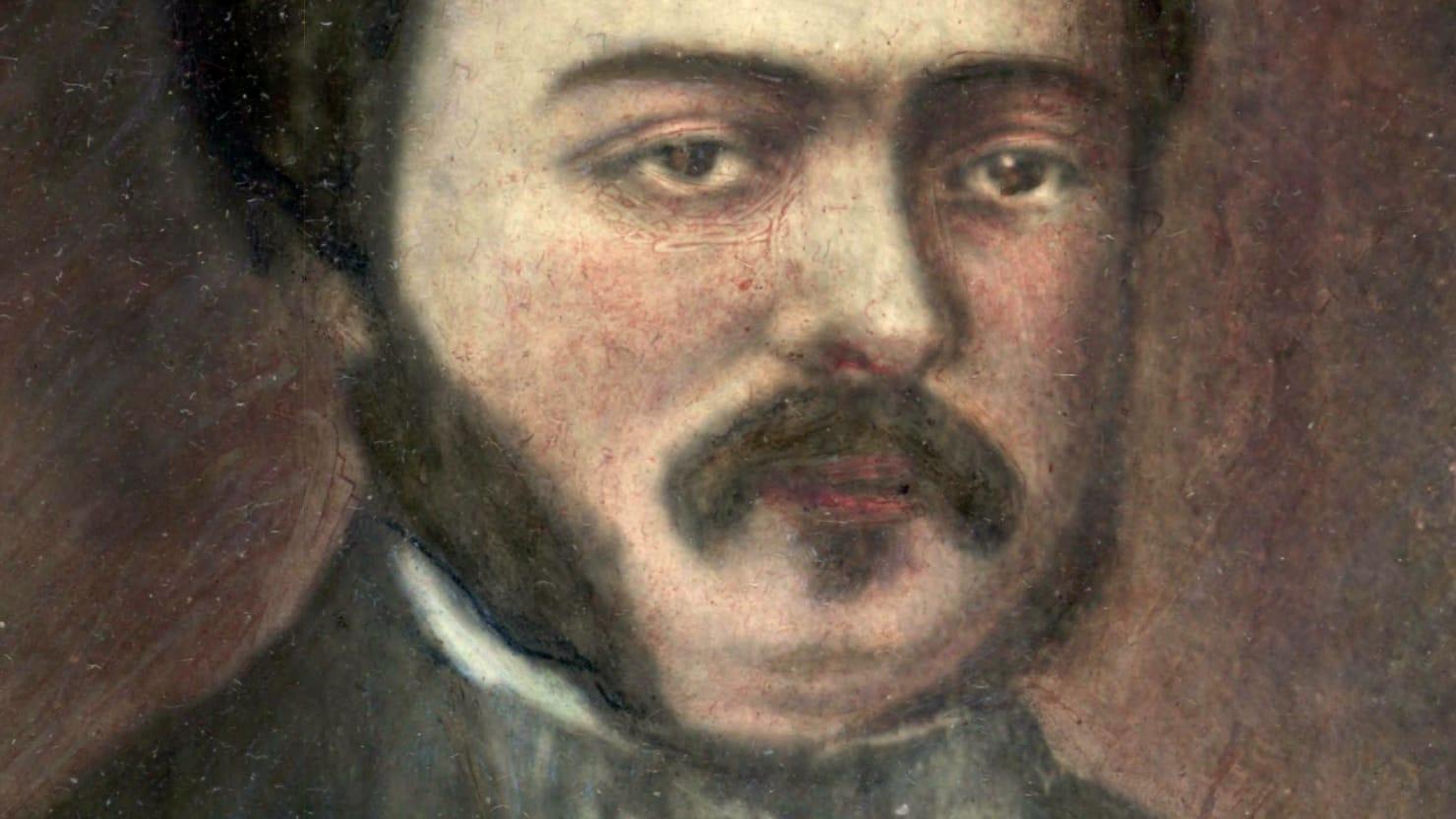 Portrait of Alexander Leidesdorff 1810- 1848