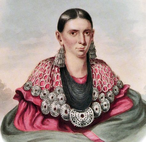 D'Moosh-Kee-Kee-Awh (pictured). Before there was a republic, there were native women who may have enjoyed a more egalitarian society than the one provided for by the Constitution. There was no provision for voting for women, anyone of color, immigrants, Native Americans, or those who did not own land when the Constitution was ratified in 1788. The 14th Amendment, ratified 80 years later, grants full citizenship rights, including voting rights, to all men born or naturalized in the United States, but not to women.