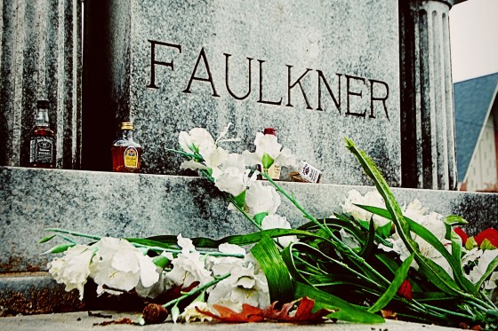 Saint Peter's Cemetery is the final resting place of William Faulkner