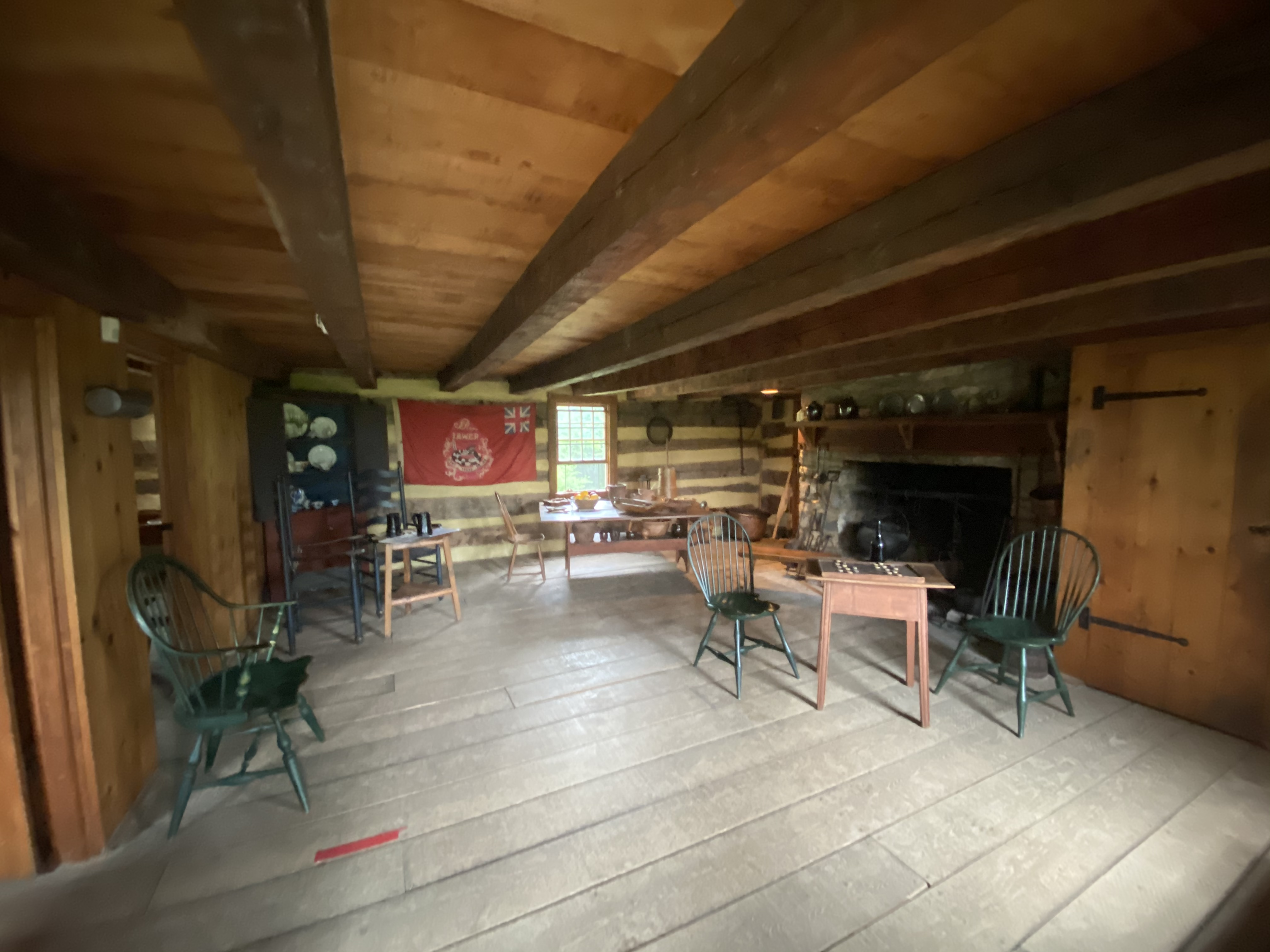The main floor of the tavern