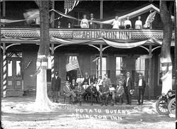 Potato Buyers at Arlington Inn, 1912