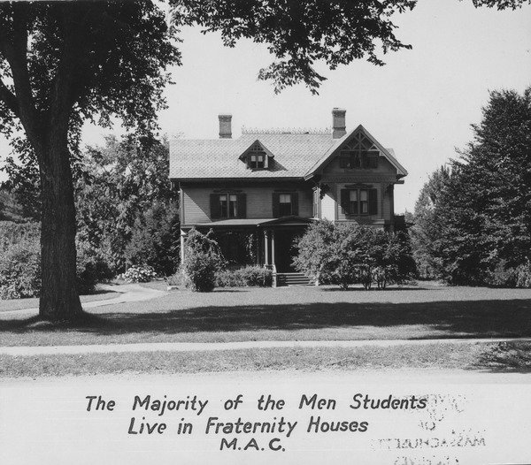 Fraternity Houses, undated.