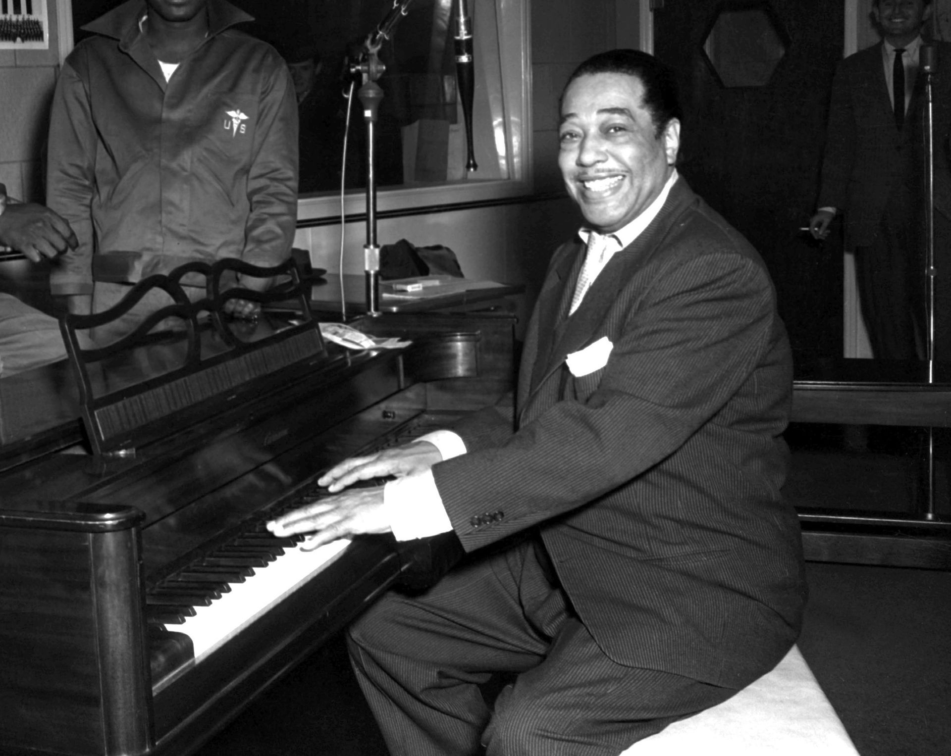 Jazz musician Duke Ellington, for whom the Bridge was named in 1974. Wikimedia Commons.