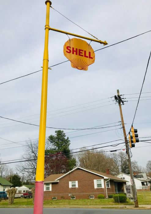 The Shell sign