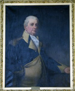 General Henry Knox.  This painting is displayed in the Knox Museum (Photo Courtesy of Shawn Patrick Ouellette, contributor to the Portland Press Herald)