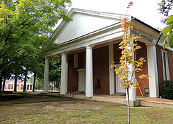 College Hill Presbyterian Church was built in 1844.