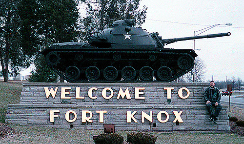 Entrance to Fort Knox
