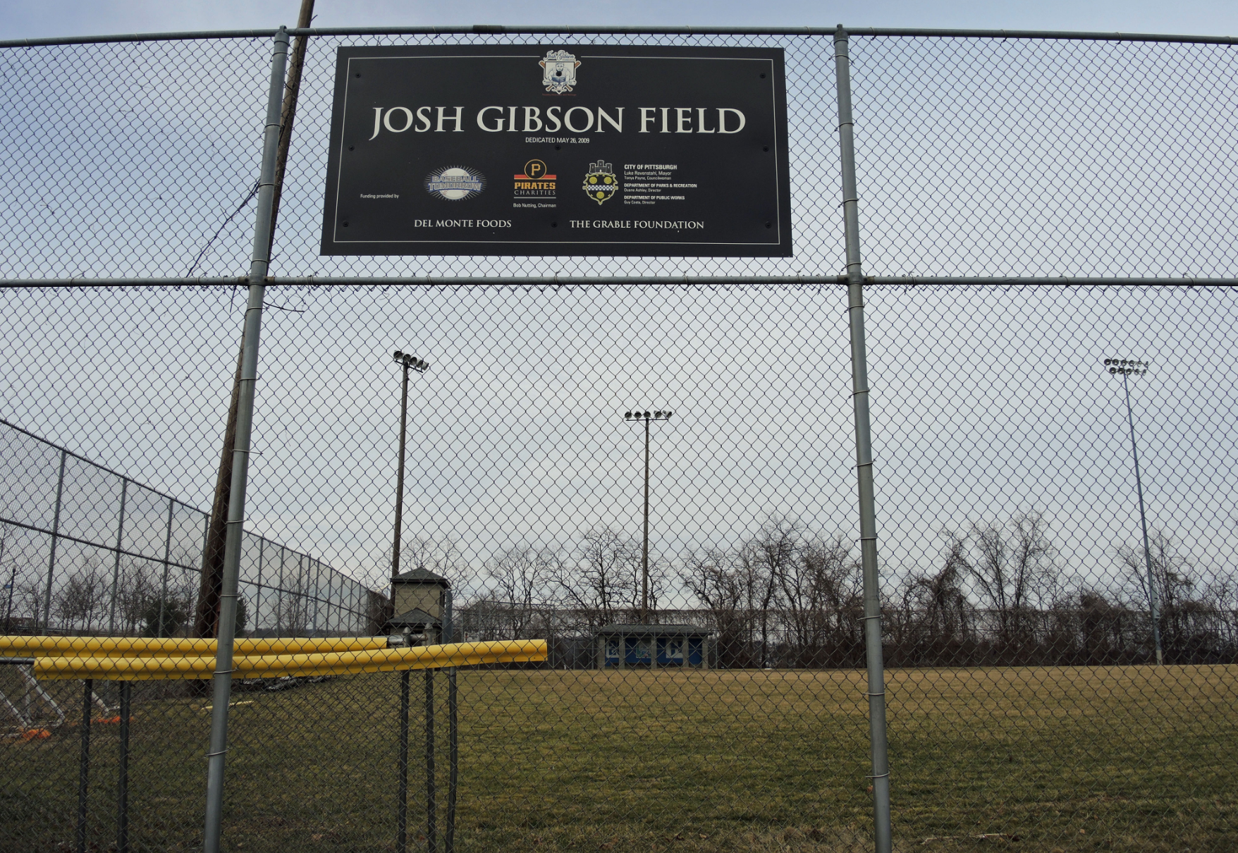 Josh Gibson Field today.