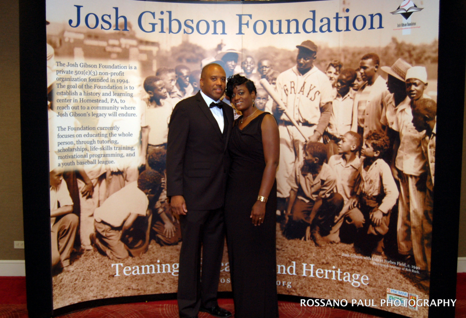 Sean Gibson, grandson of Josh Gibson