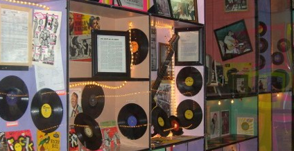 Rock and Blues Museum Exhibit