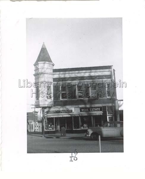 Morrison Shoe Store, 1955
