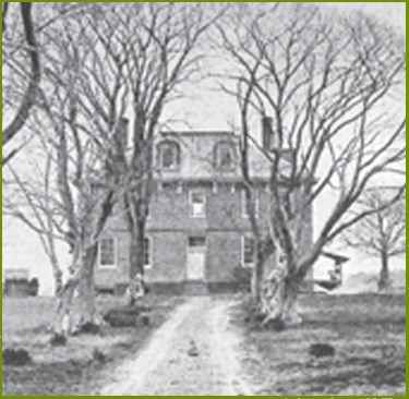 The Ambler Mansion photographed before the 1895 fire, courtesy of the National Parks Service (public domain)