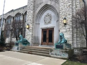 Levere Memorial Temple is the national headquarter of Sigma Alpha Epsilon