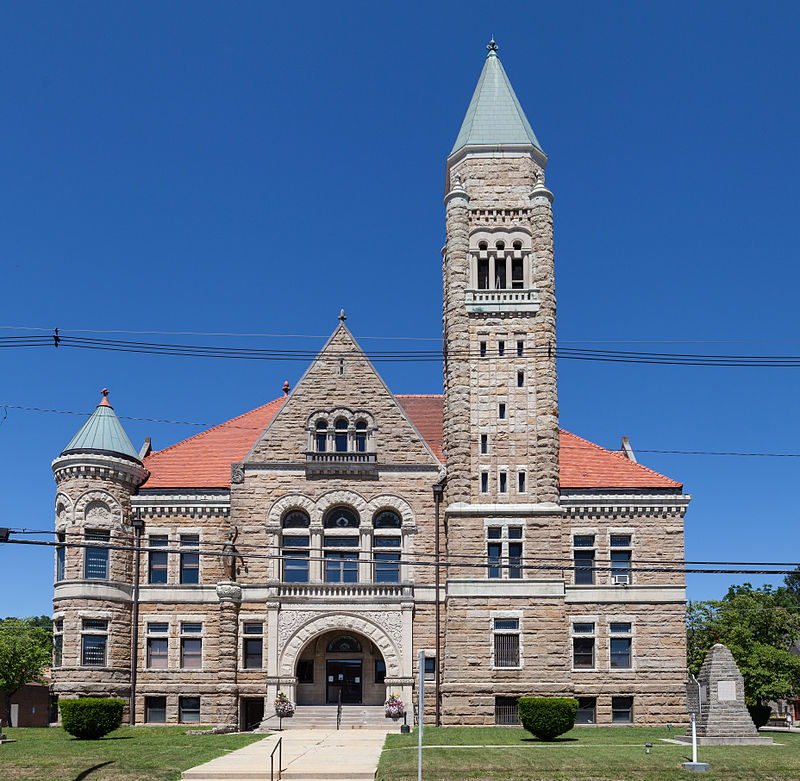 Current photo of Randolph County Courthouse.