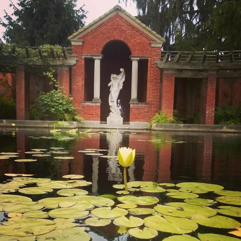 The Vanderbilt Mansion's Formal Gardens