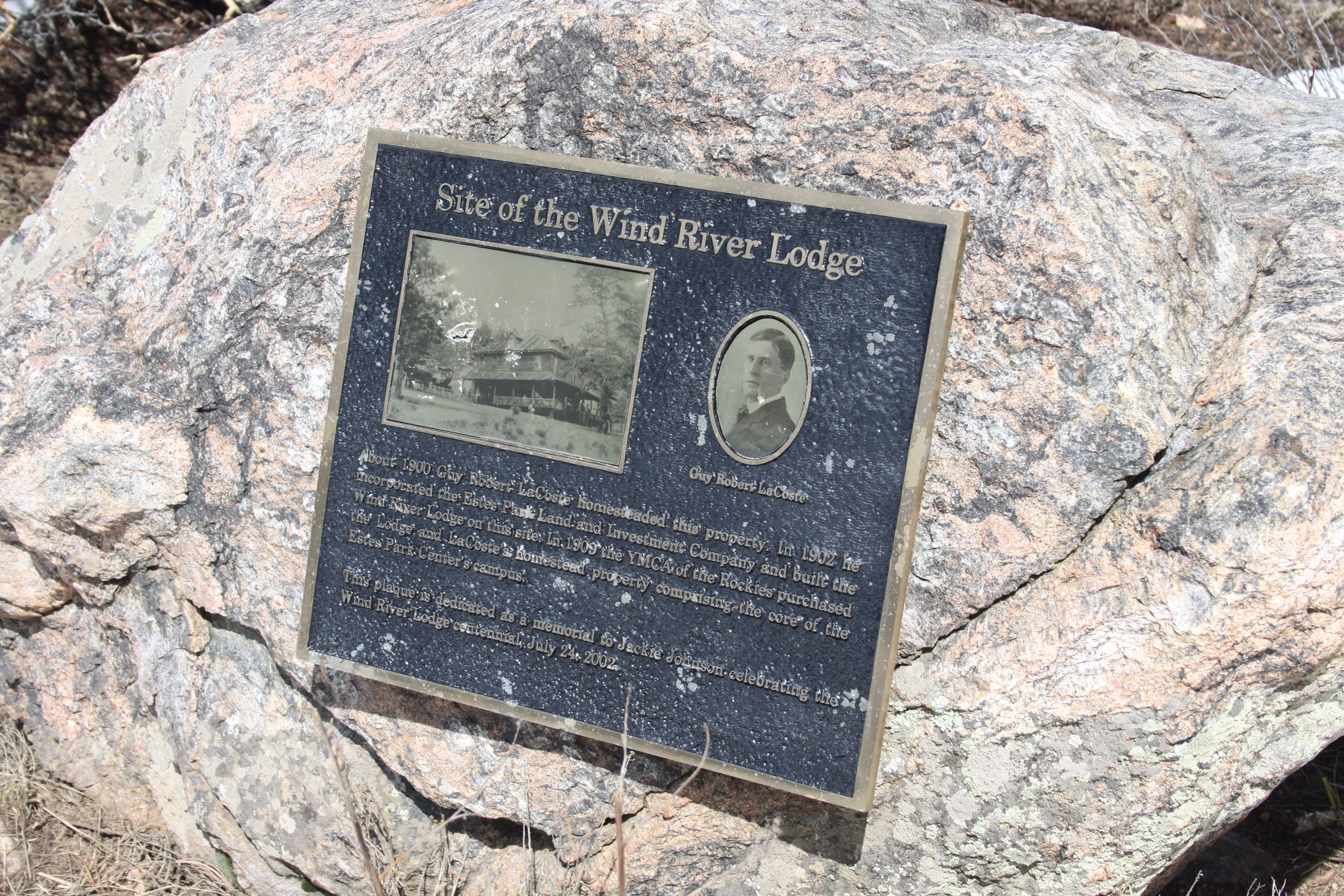 Site of the Wind River Lodge