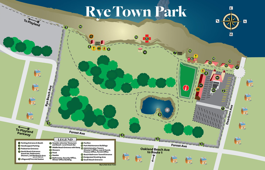 Rye Town Park Map