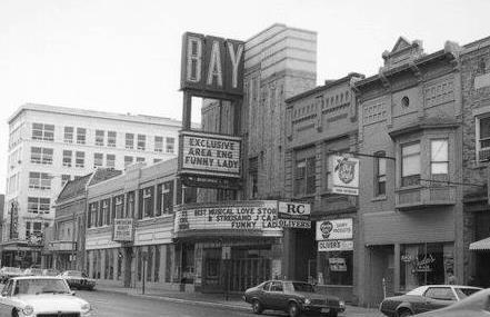 1975 photo as Bay Theatre credit and courtesy Dan Malcore (via CinemaTreasures.org)
