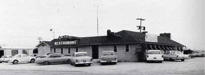 The Dine-O-Mite Inn at 23rd and Louisiana was one of the most popular hang-outs in Lawrence