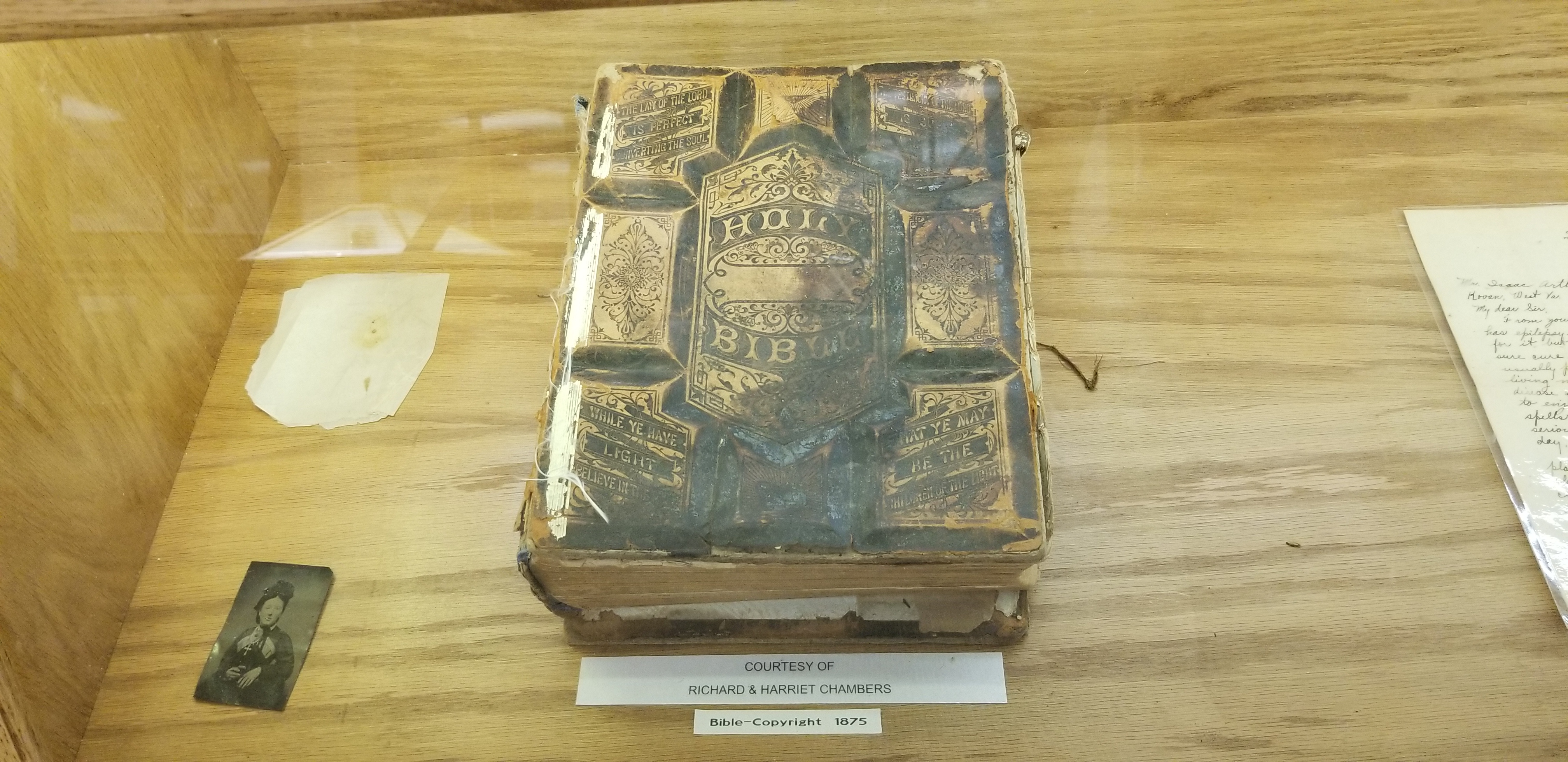 Bible from 1875