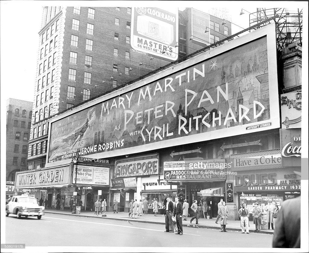 Peter Pan, 1954-1955