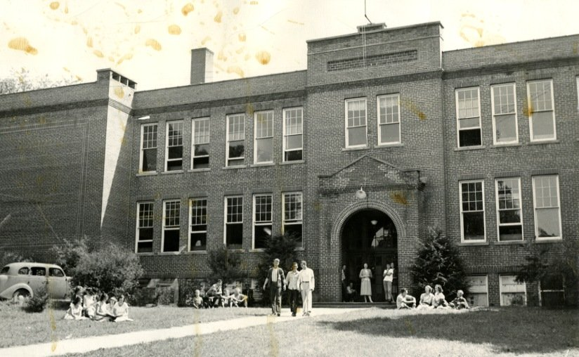 Lewisburg School from Greenbrier Historical Society archives.