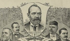 Uriah Stephens organized the Knight of Labor in his Philadelphia home with a small group of garment workers in 1869.
