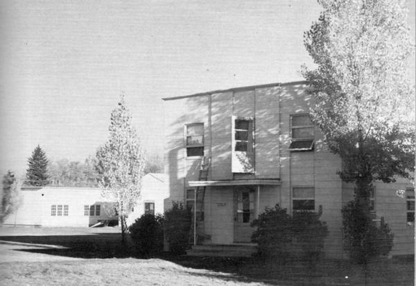 Hudson Hall 1955.