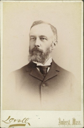 George F. Mills, cabinet photograph, ca. 1890.