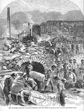 """""""Bringing out the dead"""". Originally published in the September 25, 1869 issue of Harper's Weekly"""