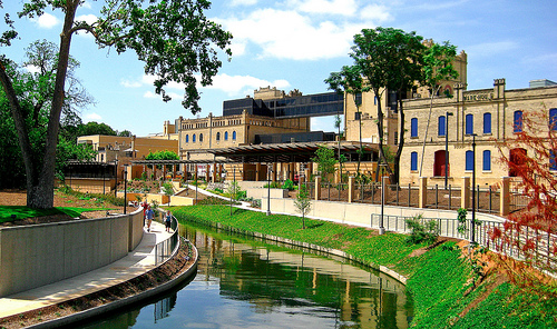 The San Antonio Museum of Art is located in the former Lone Star Brewery complex, where it has been since 1981.