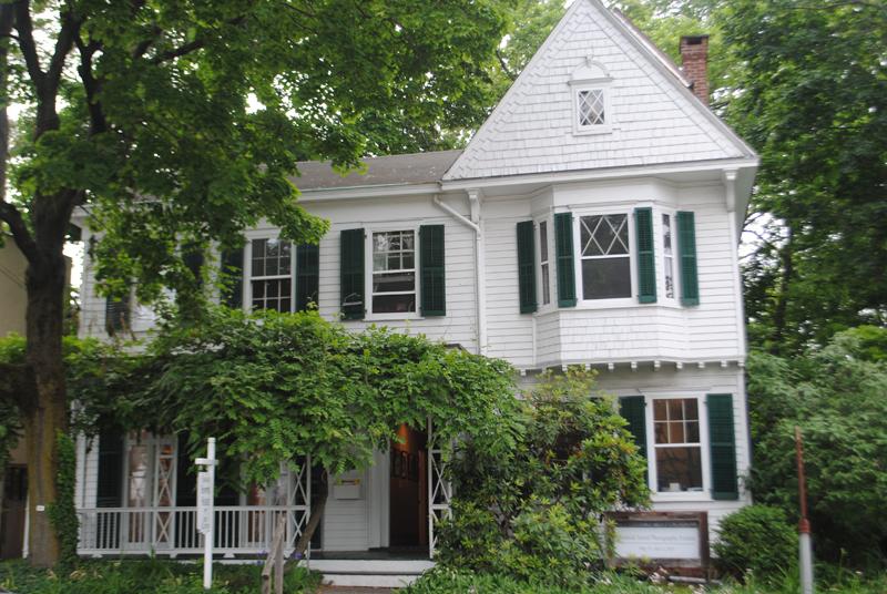 The Edward Hopper birthplace