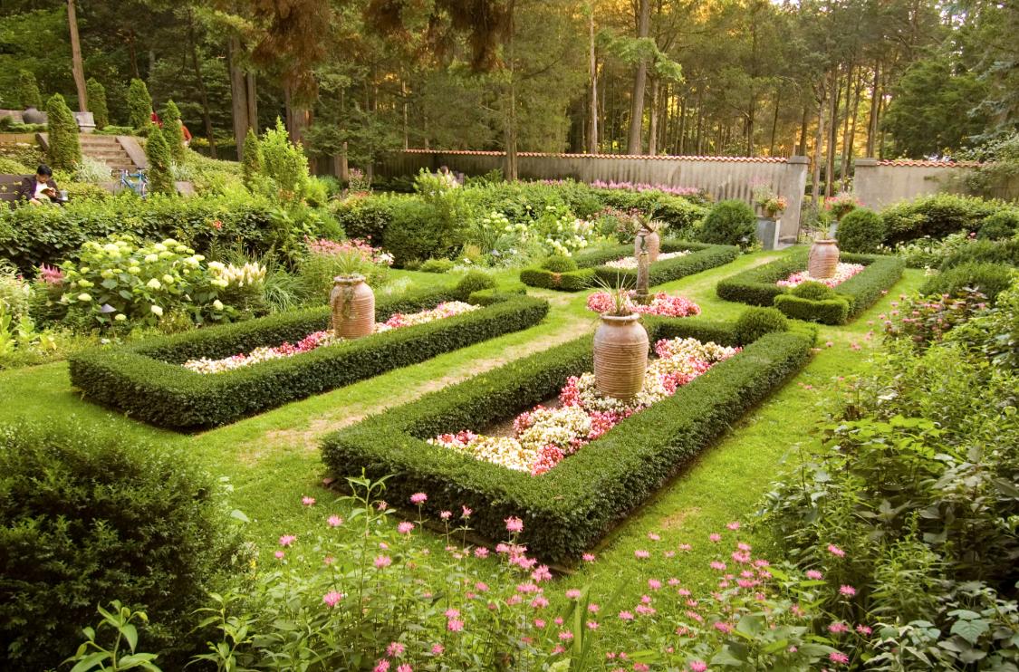 The gardens at Caramoor