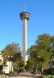 During HemisFair the Tower was surrounded by a monorail, a sky-ride, water park and other amusements.