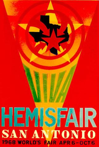 Viva HemisFair poster