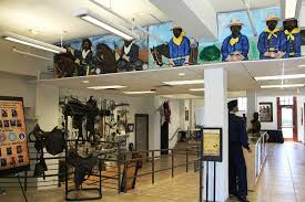 Buffalo Soldiers National Museum exhibition room.