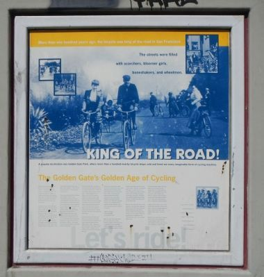 King of the Road! historical marker