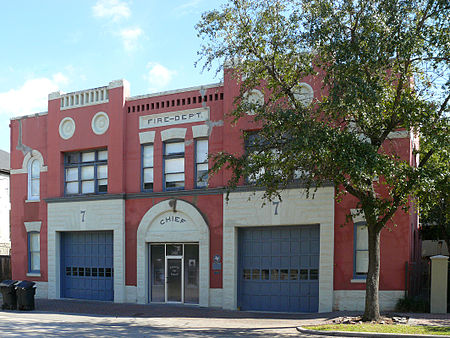 The museum is located in a historic fire station, built in 1899.