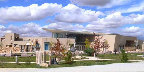 The Albuquerque Museum features works of art and historical objects related to the city and New Mexico.