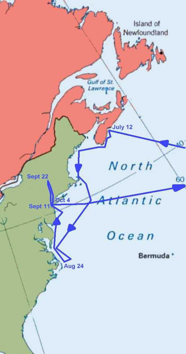 Hudson's third voyage