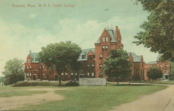 Amherst, Mass., M.A.C., South College, ca. 1912.