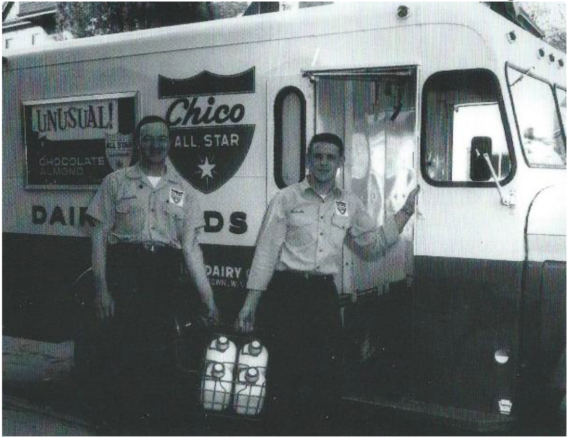 Employees at Chico Dairy Company, 1960. Courtesy of the Dominion Post.
