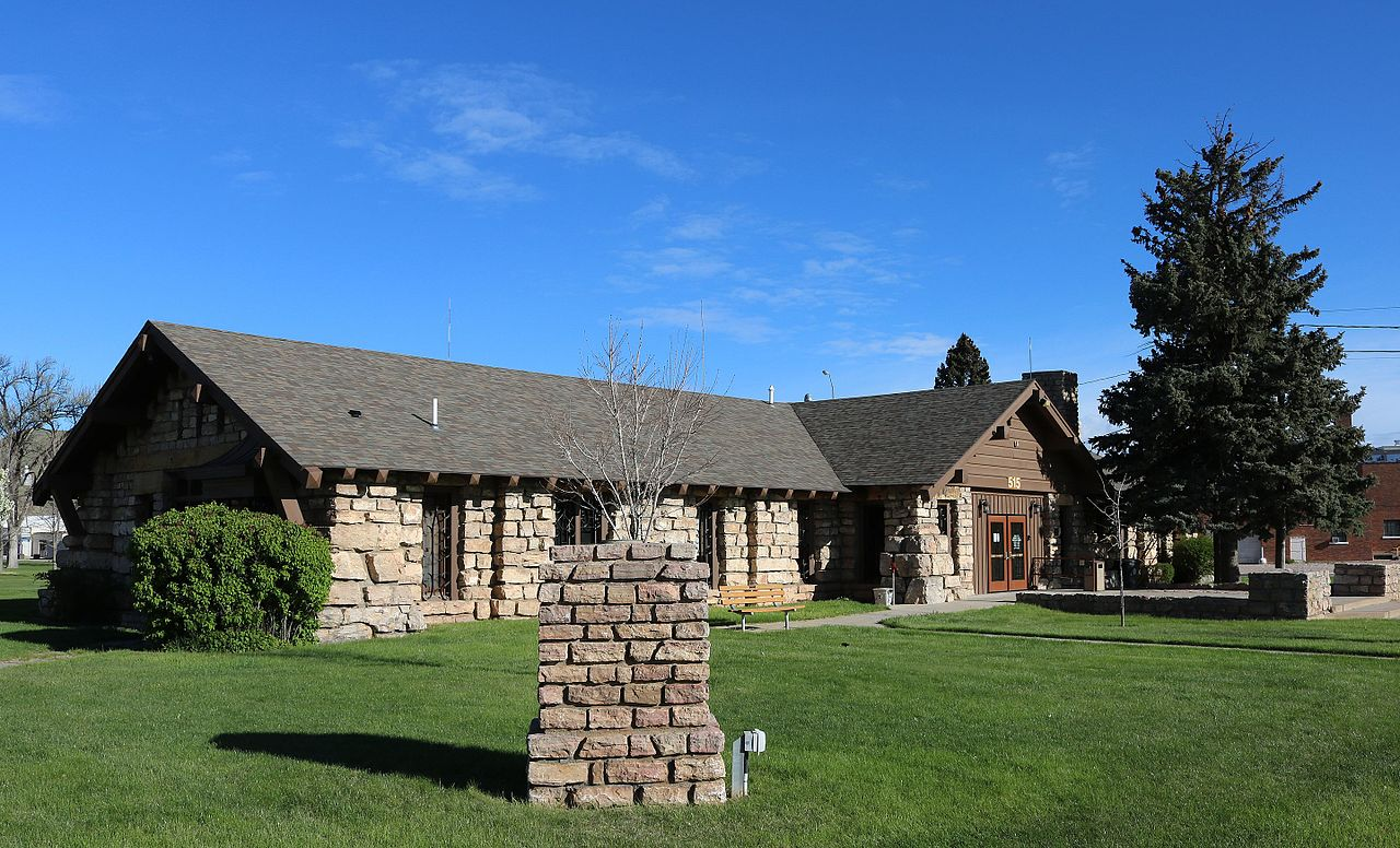 The Rapid City Parks and Recreation Building is a good example of rustic vernacular architecture.
