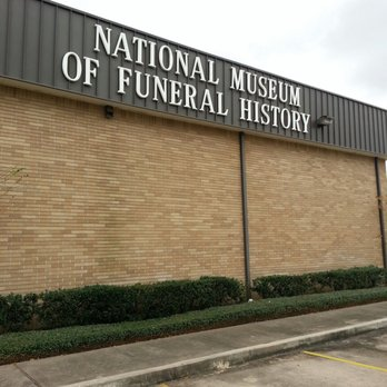 The National Museum of Funeral History opened in 1992 and features 14 exhibits. Image obtained from Yelp.