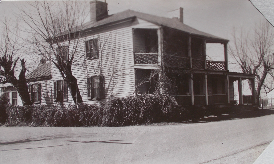 Oldest known photograph of Mead's Tavern dating to 1941.