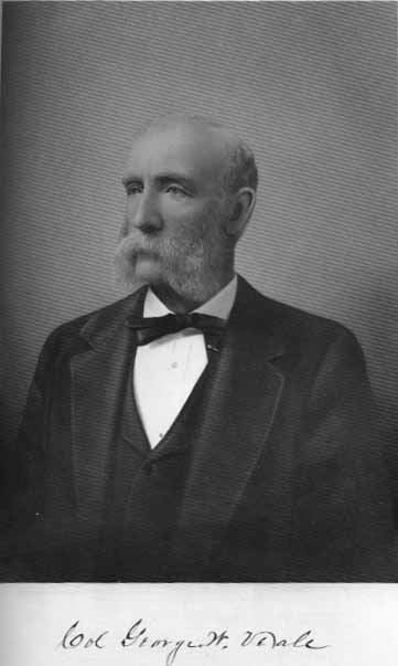 A postwar portrait of Colonel George W. Veale, commander of the 2nd Kansas State Militia, which bore the brunt of the fighting at Mockbee's Farm. Among other things, Veale was a railroad magnate, banker, and statesman, and figures prominently in early Kan